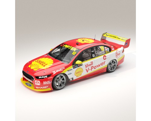 1:18 Scale Ford FGX Falcon Shell V-Power #12 Coulthard 2017 Sandown