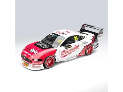 Authentic Collectables 1:18 Ford Mustang GT - Will Davison - 2019 Sandown 500 Retro Round