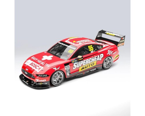 Authentic Collectables 1:18 Ford Mustang GT - Mostert/Moffat 2019 Sandown 500 Retro Round