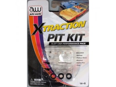 Auto World X-Traction Slot Car Pit Kit