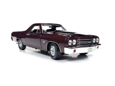 Auto World 1:18 Chevy El Camino - Black Cherry