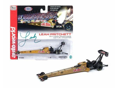 Auto World 1:64 NHRA Top Fuel Dragsters - 2017 Leah Pritchett - Papa John's