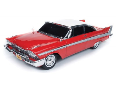 1:18 Scale Christine Movie Car - 1958 Plymouth Fury