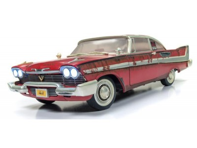 Auto World 1:18 Christine Movie Car - 1958 Plymouth Fury Dirty Version