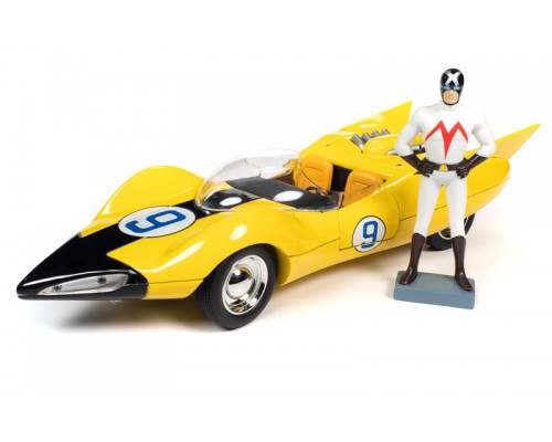 Auto World 1:18 Speed Racer Shooting Star with Racer X Figurine
