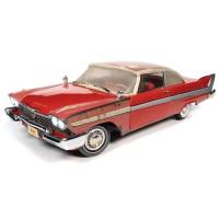 Auto World 1:18 Christine Movie Car - 1958 Plymouth Fury Partially Restored