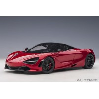 1:18 Scale McLaren 720S - Memphis Red / Metallic Red