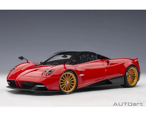 1:18 Scale Pagani Huayra Roadster - Rosso / Monza Red
