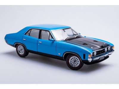1:18 Scale Ford XA Falcon GT Sedan - Blaze Blue
