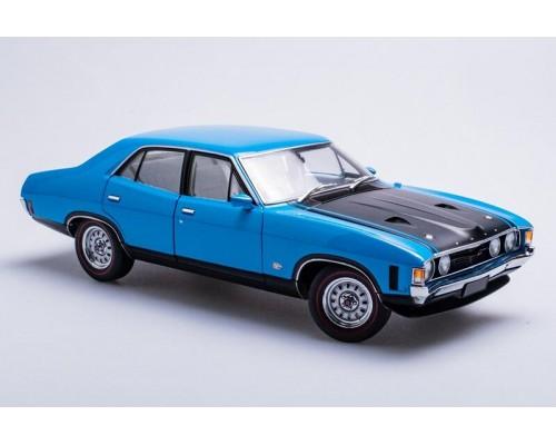 1:18 Scale Ford XA Falcon GT Sedan - Blaze Blue
