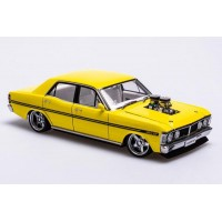 1:18 Scale Ford XY Falcon - Street Machine Edition - Yellow