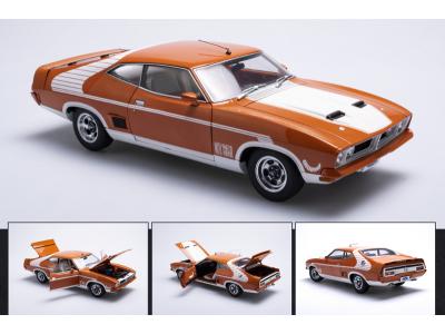 Autoart 1:18 Ford XB Falcon GT Hardtop McLeod Horn Car - Burnt Orange