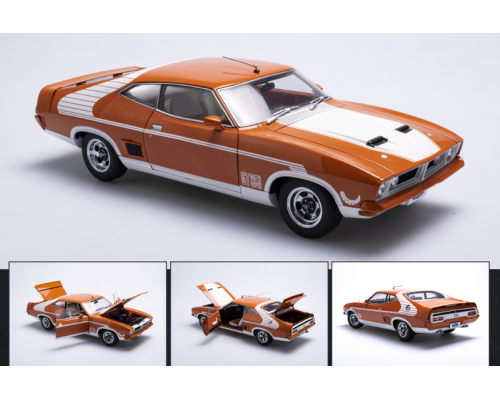Autoart 1:18 Ford XB Falcon GT Hardtop McLeod Horn Car - Burnt Orange