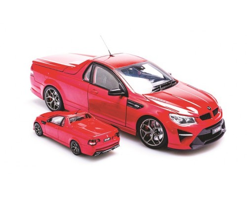 1:43 Scale Holden HSV GTSR Maloo Sting Red