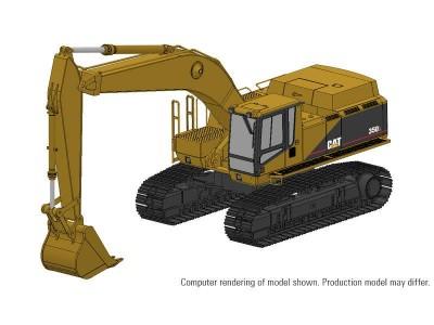 1:48 Scale Caterpillar 350L Hydraulic Excavator