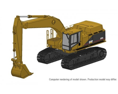 1:48 Scale Caterpillar 350L Hydraulic Excavator