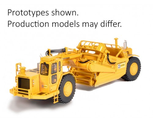 CCM Models 1:48 Caterpillar 639D Elevating Scraper