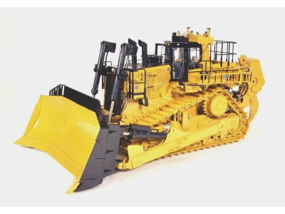 1:24 Scale Caterpillar D11 Dozer with U-Blade and Single Ripper