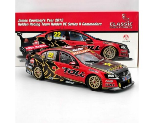 Classic Carlectables 1:18 Holden VE Series II Commodore - 2012 James Courtney