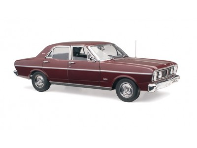 1:18 Scale Ford XT GT Falcon - Vintage Burgundy