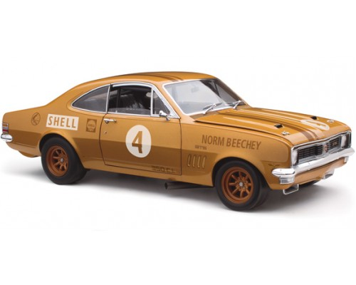Classic Carlectables 1:18 Holden HT Monaro 1970 ATCC Anniversary Gold Livery