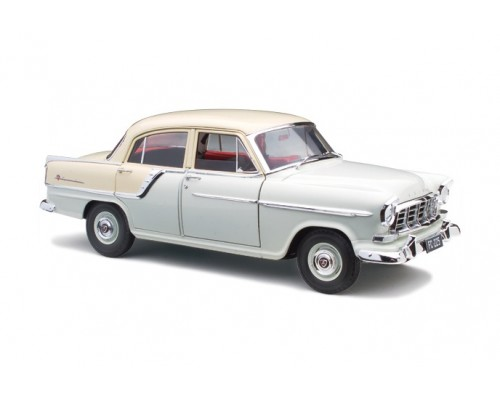 Classic Carlectables 1:18 Holden FC Special Sedan - Cape Ivory over India Ivory