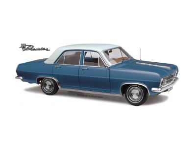 Classic Carlectables 1:18 Holden HR Premier Sedan - Hacienda Blue
