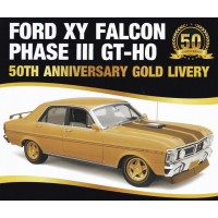 Classic Carlectables 1:18 Ford XY Falcon GT-HO Phase III - Gold Livery