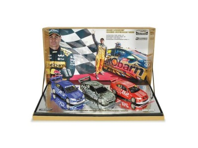 Classic Carlectables 1:43 Craig Lowndes Career Supercar Wins Triple Set