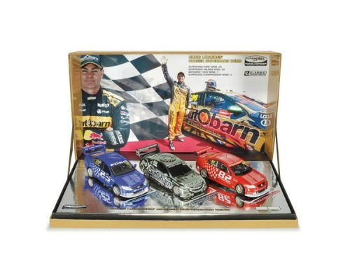 1:43 Scale Craig Lowndes Career Supercar Wins Triple Set