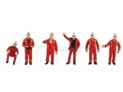 1:50 Scale Construction Workers - Mammoet Figurine Set IV