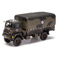 1:50 Scale Military Bedford QLD 4x4 General Service Cargo Truck