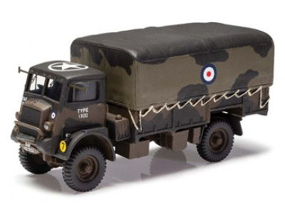 Corgi 1:50 Military Bedford QLD 4x4 General Service Cargo Truck