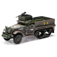 1:50 Scale Military M3 A1 Half Track Armoured Infantry