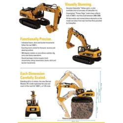 1:20 Scale RC Caterpillar 330D L Excavator