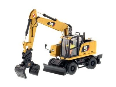 Diecast Masters 1:50 Caterpillar M318F Wheeled Hydraulic Excavator
