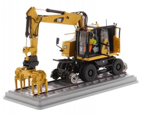 Diecast Masters 1:50 Caterpillar M323F Railroad Excavator