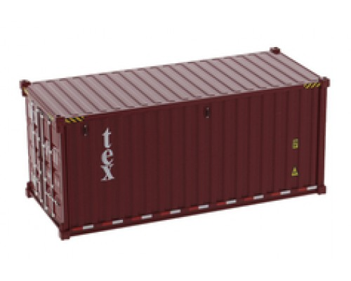 1:50 Scale 20FT Shipping Container - TEX