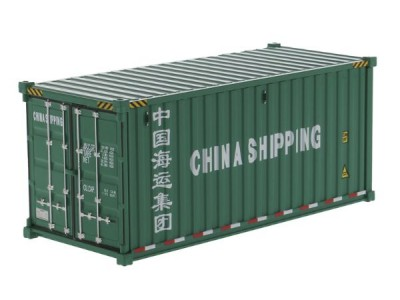 Diecast Masters 1:50 20FT Shipping Container - China Shipping
