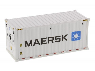 1:50 Scale 20FT Refrigerated Shipping Container - MAERSK