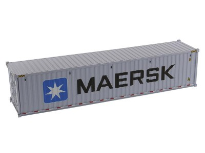 1:50 Scale 40FT Dry Goods Shipping Container - MAERSK