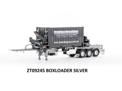 Drake Collectibles 1:50 Trailer BoxLoader with Container - Silver