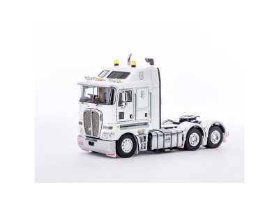 Drake Collectibles 1:50 Kenworth K200 Prime Mover - White/Black Chassis