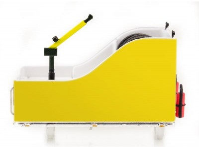 1:50 Scale Ballast Box with Accessories - Yellow