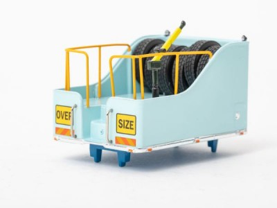 Drake Collectibles 1:50 Ballast Box with Accessories - Light Blue