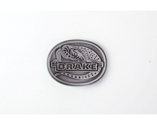 Drake Collectibles - Belt Buckle Pewter Style
