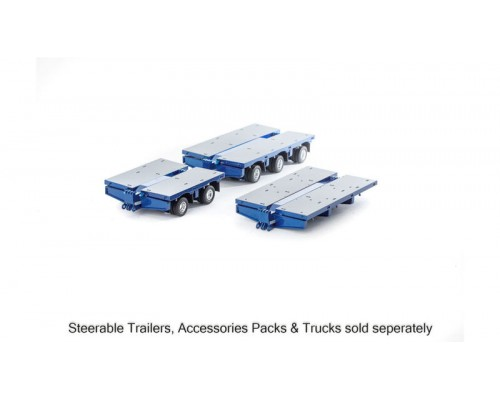 Drake Collectibles 1:50 Scale Drake 7x8 Steerable Accessory Kit - Metallic Blue