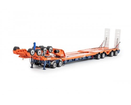 1:50 Scale Drake 4x8 Bucket Trailer & 2x8 Dolly - Drake Orange