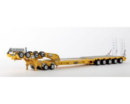 Drake Collectibles 1:50 Drake 5x8 Drop Deck Trailer with 2x8 Dolly - Yellow