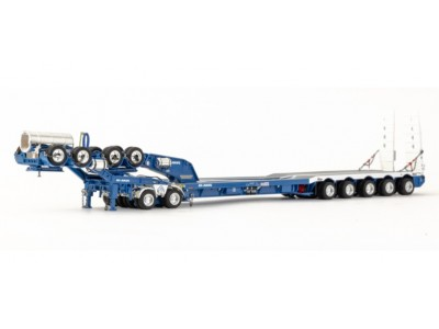 Drake Collectibles 1:50 Drake 5x8 Drop Deck Trailer with 2x8 Dolly - Hi-Haul Transport
